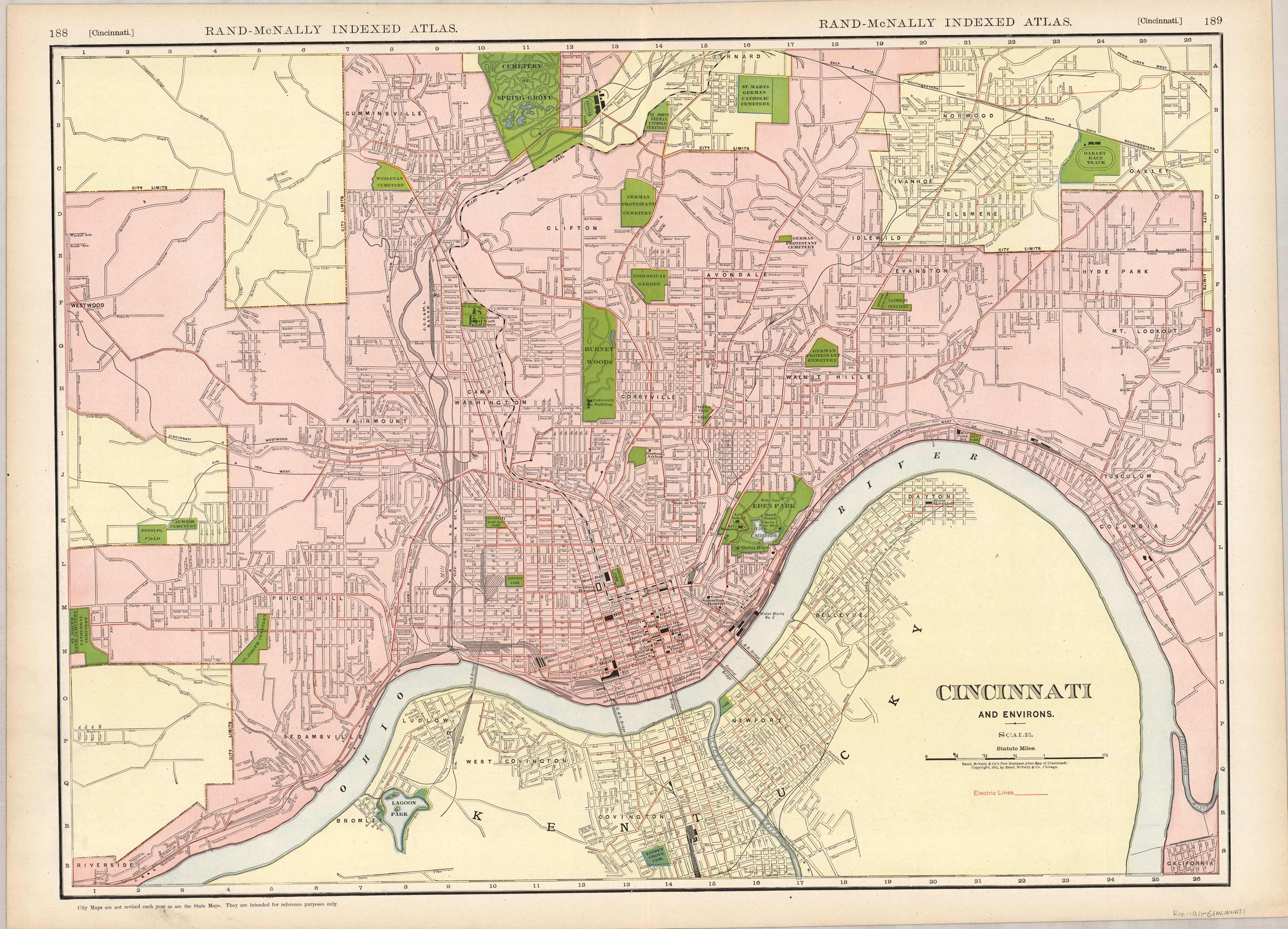 Cincinnati and Environs