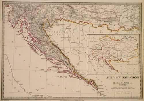 Austrian Dominions III. Croatia