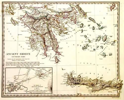 Ancient Greece - Southern Part