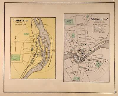 Cities of Fairfield and Skowhegan (Somerset County)