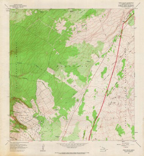 Wood Valley Quadrangle
