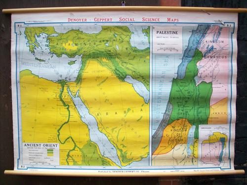 Ancient Orient and Palestine Before the Rise of the Greek