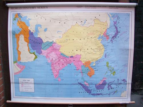 Map Of Asia 1900.Asia 1900 World History