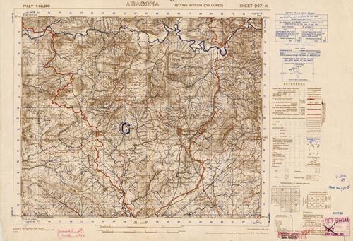 Aragona - Sheet 267 III