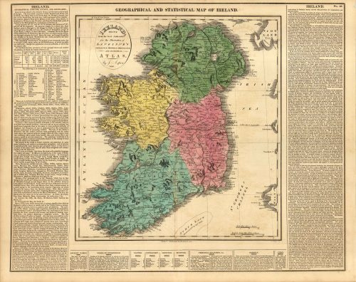 Map Of Ireland 600 Ad.Antique Maps Browse Our Huge Collection Art Source International